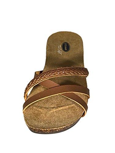 Dr. Scholls Mujeres Regina Sandal Saddle