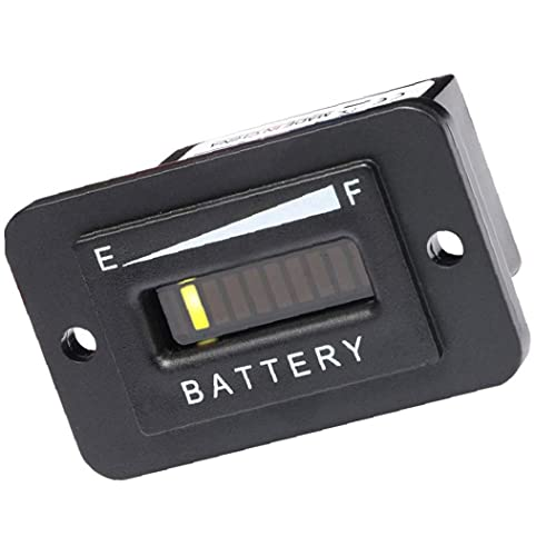 ODOUKEY -J2 Batterij Indicator Capaciteit Tester Meter Tester Checker voor 48V lood-zuur Batterij Motorfiets Golf Cart…