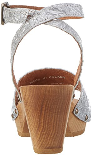 Sanita Birka Square Flex Sandal - Tira de tobillo Mujer beige (beige)