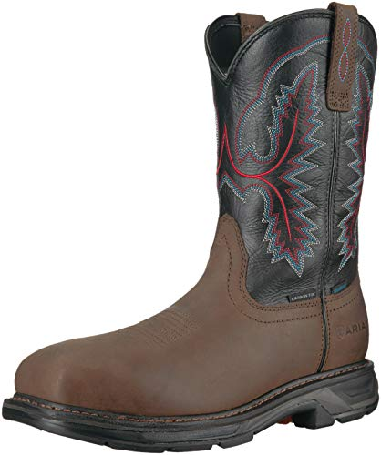 Work H2O Toe Men's Workhog Carbon XT Oily Distressed Brown Brown Boot Western Ariat dxgZqwIpd