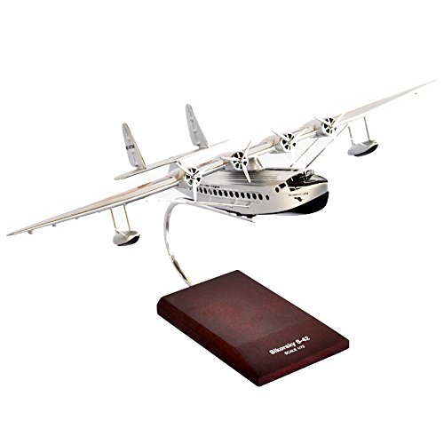 - Mastercraft Collection S-42 Pan American Plane Airplane Scale:1/72 Model