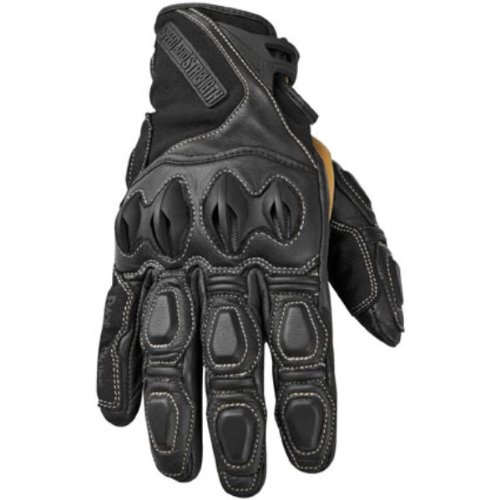 NEW SPEED AND STRENGTH RAGE WITH THE MACHINE ADULT LEATHER/TEXTILE GLOVES, BLACK, MED/MD