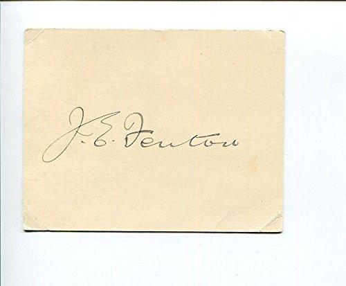 Postmaster General Signed (James Fenton Australia Postmaster General Minister for Trade Signed Autograph)