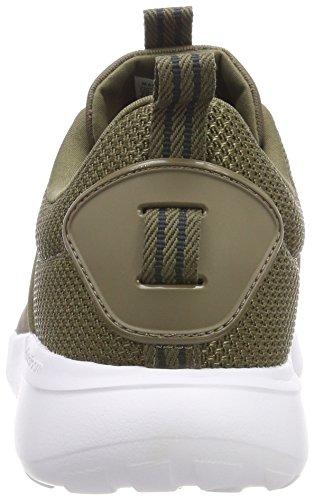 White 1 Lite Cf Adidas 3 dark Cargo footwear Uomo Verde Running carbon 43 Scarpe Eu Racer BxqwgP