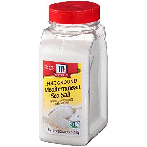 (McCormick Fine Mediterranean Sea Salt, 28.25 oz)