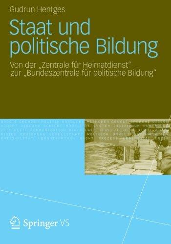 Staat und Politische Bildung: Von der