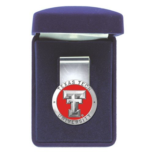 (Pewter Texas Tech Red Raiders Money Clip)