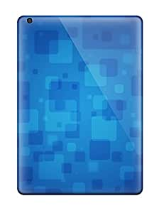 Faddish Phone Blue Squares Case For Ipad Air / Perfect Case Cover