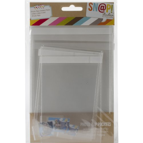 (Simple Stories Snatp! Photo Flips Variety for 6 by 8-Inch Binders, 12-Pack)