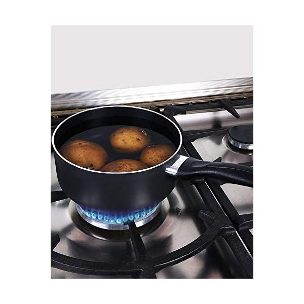 Utopia Kitchen Nonstick Saucepan Set - 1 Quart and 2 Quart - Glass Lid - Multipurpose Use for Home Kitchen or Restaurant… 4