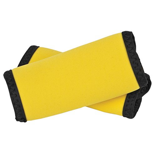 Yellow Neon Luggage Tag (Travelon Set of 2 Handle Wraps, Neon Yellow)