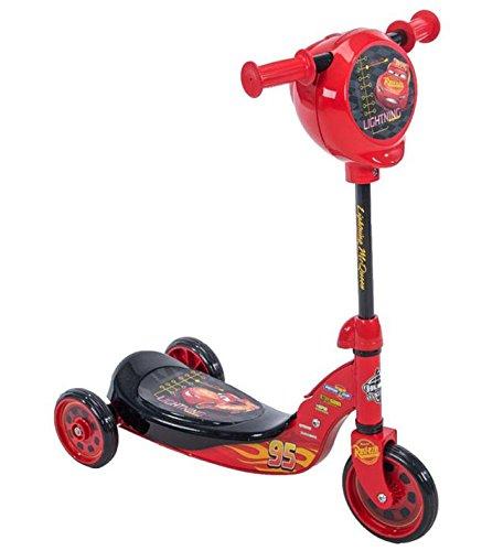 (Wonders-Shop-USA New My Lightning Mc-Queen Cars Kick Scooter 3 wheels with Secret)