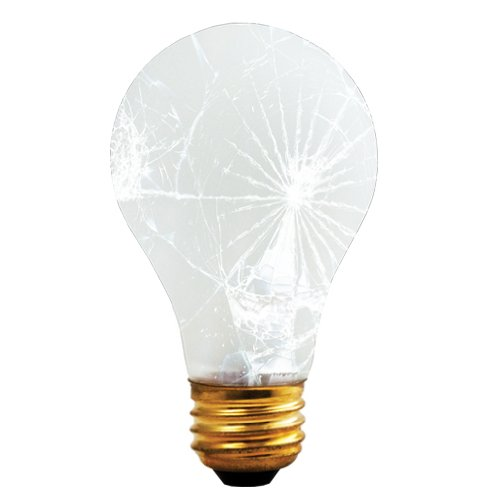 Bulbrite 75A/RS/TF 75-Watt Incandescent Standard A19 Rough Service and Shatter Resistant, Medium Base, Frost, 24 Bulbs (Bulbs Four Incandescent 75w)