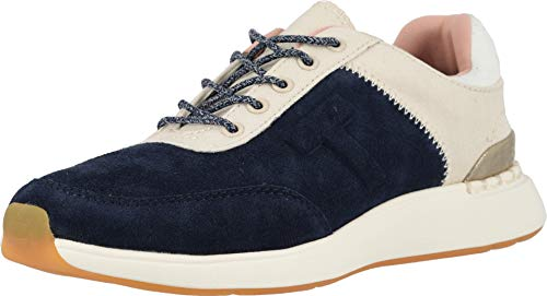 TOMS Women's Arroyo Navy Suede and Canvas Sneakers ()