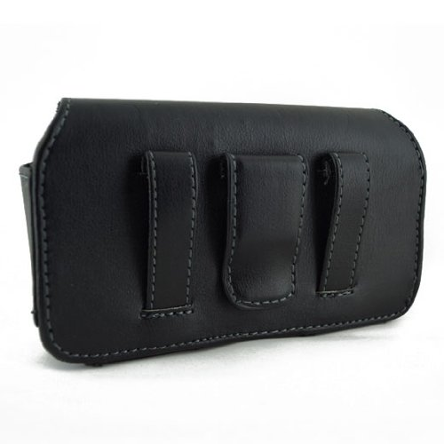 Leather Horizontal Case and Wall Charger for Samsung Galaxy Trend Plus S7580