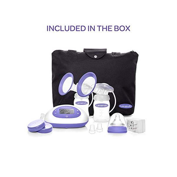 Lansinoh Signature Pro Double Electric Portable Breast Pump With
