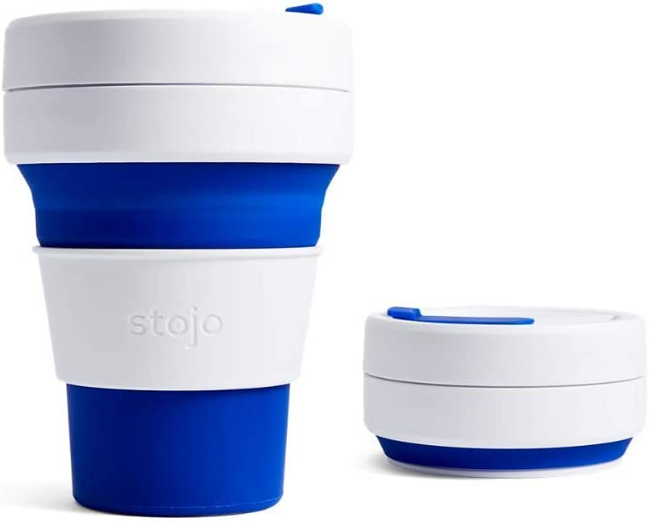 STOJO collapsible reusable coffee cup