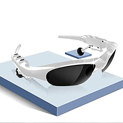 Bluetooth Glasses, LtrottedJ Bluetooth Music Glasses X 1,Eyeglasses Bag X 1,Charge Line X 1,Eyeglasses Cloth X 1,Bluetooth Glasses Music Glasses Outdoor Cycling Sunglasses Headset Earphone