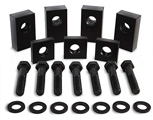 - Jeep Wrangler JKU/JLU Black Delrin Plastic Rear Seat Recline Kit with Bolts and Washers