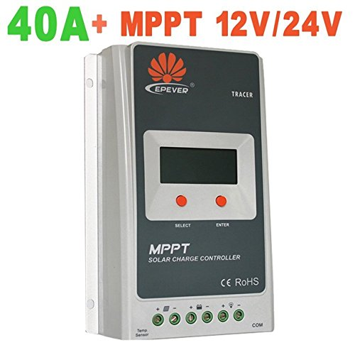 Regler Solar MPPT 40A 12V/24V Autoswitch Solar Panel Controller Tracer 4210