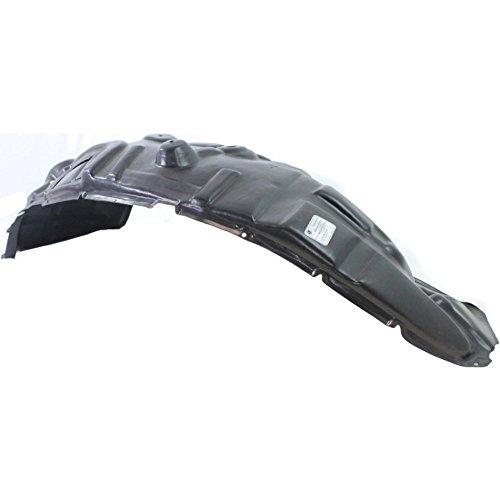 Evan-Fischer EVA18372037610 Splash Shield Front Left Side Fender Liner Plastic for RAM 1500 P/U 09-12