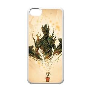 Hi I Am Groot Custom Design Apple Iphone 5c Hard Case Cover phone Cases Covers