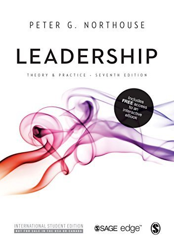 Price comparison product image Leadership: Theory and Practice 7th International st edition by Northouse,  Peter G. (2015) Paperback