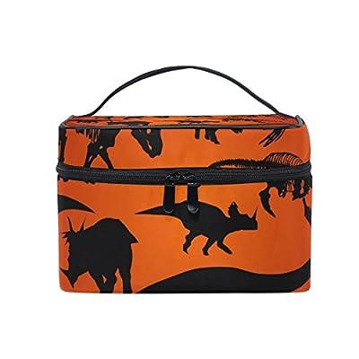 2dbfc8cdf906 hot sale 2017 ALIREA Dinosaur Silhouette Cosmetic Bag Travel Makeup ...