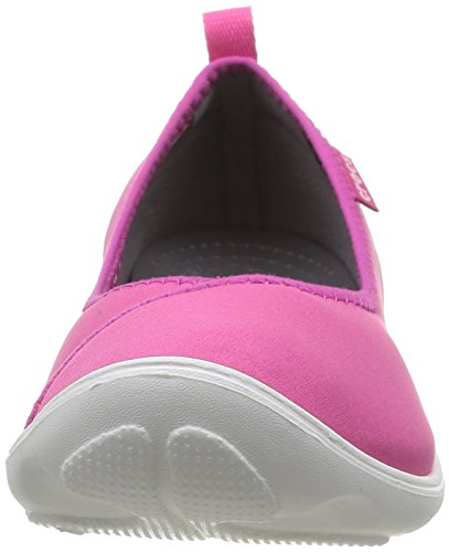 Crocs Duet Busy Day W - Bailarinas de sintético para mujer Rosa (Candy Pink/White)