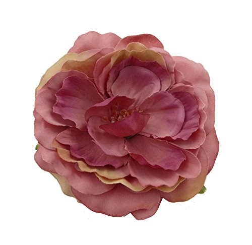 Coral Flowers Brooch - 5