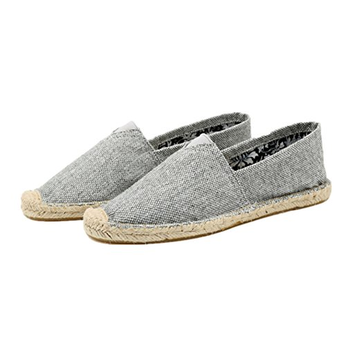 Canvas Men's Shoe Shoes 24XOmx55S99 Comfortable Casual Bottomed Flat Grey Yzdnx
