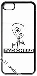 Radiohead English rock band HD image case for iphone 5c black + Gift