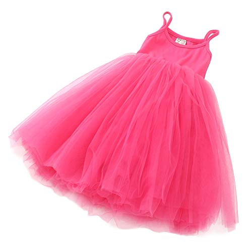 Tutu Dress For Toddlers (ZINPRETTY Toddler Dress Baby Girls Tutu Playwear Sleeveless Party Christmas Sundress)
