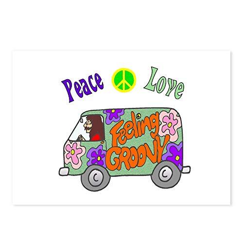CafePress Groovy Van Postcards (Package of 8), 6