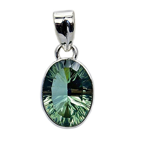 The Silver Plaza Dancing Lights Sterling Silver Lab Created Color Change Alexandrite Pendant