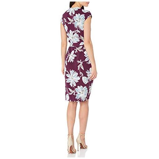 Brand Lark /& Ro Womens Sleeveless Wrap Dress