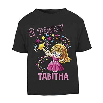 site réputé a00f2 4132d T-shirt d'anniversaire pour enfant avec nom personnalisable ...