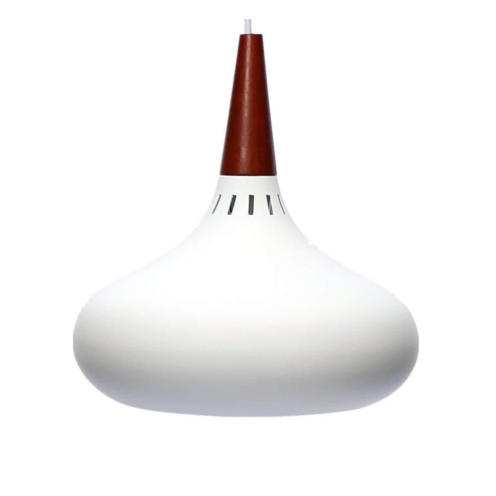 Moderner Decken-LED-Kronleuchter Lampenschirm aus Aluminium E27 Lampenfassung Wohnzimmer Restaurant Flur Schlafzimmer Wandleuchte Kreatives Weiß