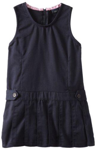 us-polo-association-school-uniform-little-girls-twill-pleated-bottom-jumper-dress-navy-5