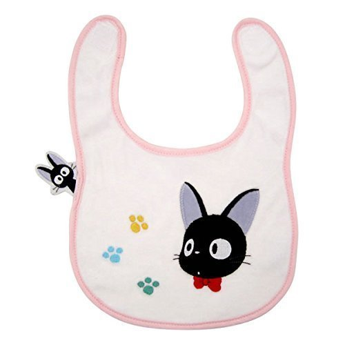 Studio Ghibli Kiki's Delivery Service Bib Black Cat Jiji and - Cat Black Bib