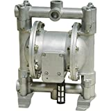 Roughneck Air-Operated Double Diaphragm Oil Pump - 12 GPM, 1/2in. Inlet and Outlet
