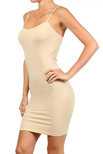 Cream Slip Dress - 2