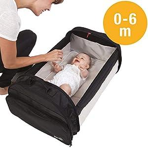 BabySun Lit de Voyage Bébé/Sac à Langer/Couffin Nomade Simple Bed, 0-6 Mois, Légèr 3