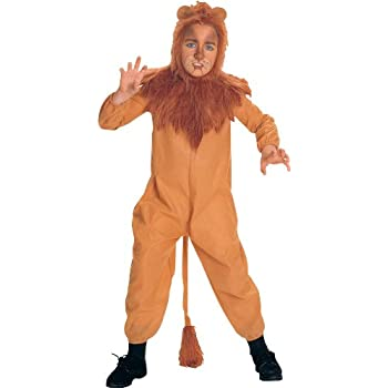 Rubieu0027s Wizard of Oz Childu0027s Cowardly Lion Costume Large  sc 1 st  Amazon.com : cowardly lion costume  - Germanpascual.Com