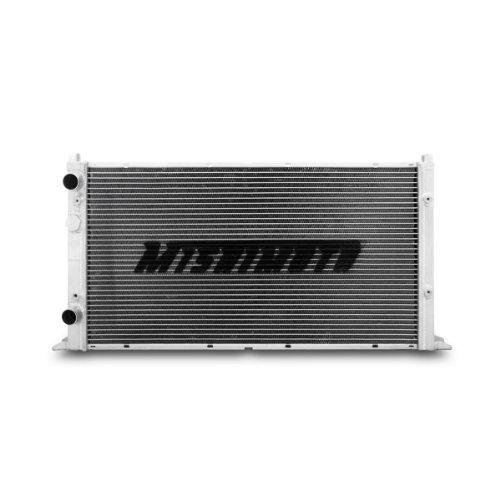 Radiator Performance Manual Aluminum (Mishimoto MMRAD-GLF-94 Volkswagen Golf VR6 Performance Aluminum Dual Pass Radiator Manual, 1994-1998, Silver)