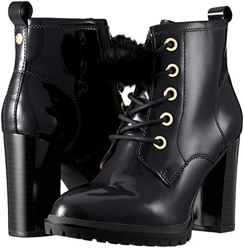 Noir 18 25202 Femme Patent Caprice Bottes Rangers black xIdwSUSq