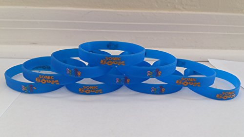GLOW IN THE DARK - SONIC bracelets party favors