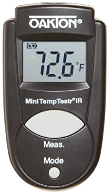 Oakton WD-39642-00 Mini TempTestr IR Infrared Thermometer, -27 to 428°F, -33 to 220 degree C