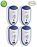 Ultrasonic Pest Repeller Plug In 2018 Latest Pest Repellent for Indoor Electronic Pest Reject Control