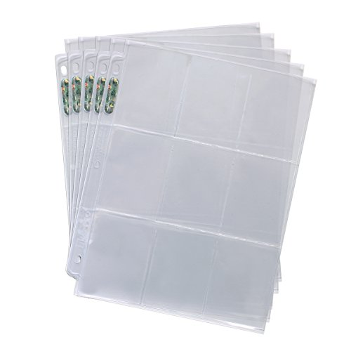 Large Product Image of 25 Ultra Pro 9 Pocket Silver Series Page Protectors